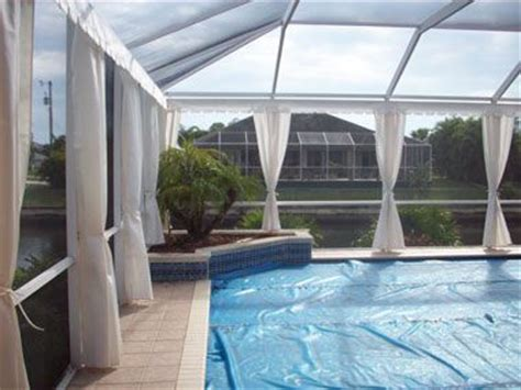 Pool Outdoor Privacy Curtains Pictures To Pin On Pinterest