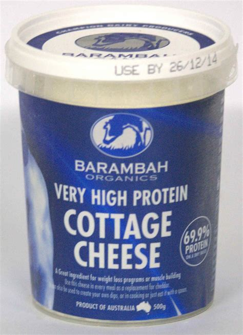 Protein Cottage Cheese by Barambah Quark