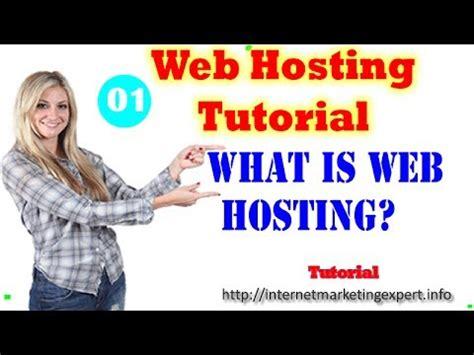 tutorial website hosting web hosting tutorial youtube