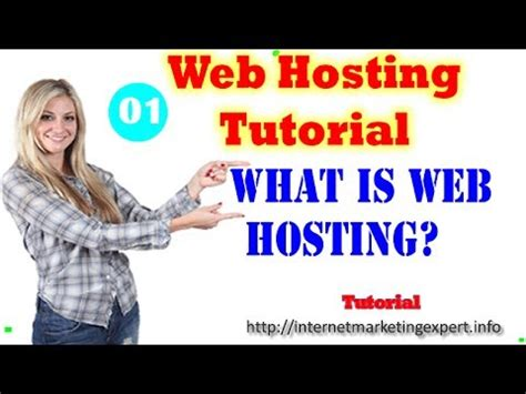 tutorial on website hosting web hosting tutorial youtube