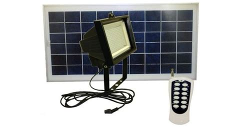 solar panel flood lights 108 leds solar flood light with remote greenlytes