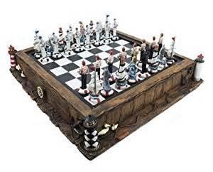 Amazon Chess Set by Amazon Com Nautical Chess Set Toys Amp Games