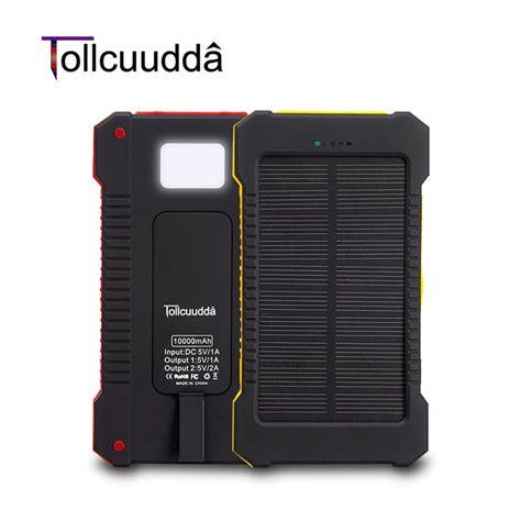 Power Bank Solar Xiaomi tollcuudda solar power bank 10000mah cell phone external