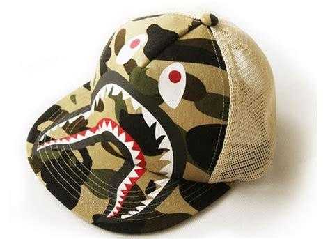 Vlo Hat Topi Anak aliexpress beli pengiriman gratis hiu bape camo jala topi baseball untuk anak anak dan