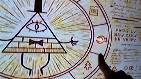 gravity falls bill cipher wheel gravity falls bill cipher wheel youtube