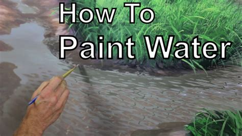 How To Paint | how to paint water learn with mural joe