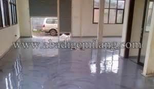 cat epoxy lantai rumah pelapis lantai rumah