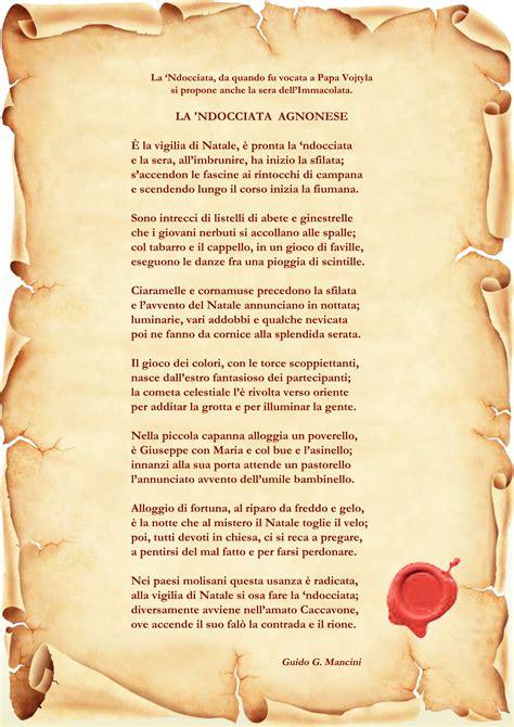fuoco sui ricordi testo ndocciata e papa francesco omaggio poetico di guido