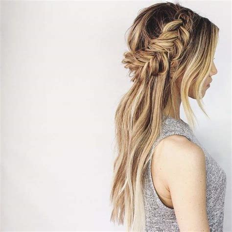 hairstyles half up half down with braids half up half down wedding hairstyles modwedding