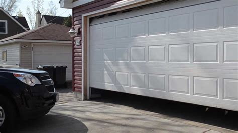 Open Garage Door With Broken by Broken Garage Door Reliable Garage Door