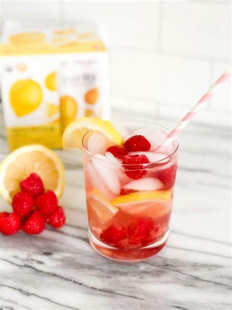 raspberry lemon lime mocktail pretty my three refreshing mocktails with purity organic boston chic