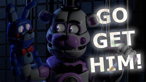 go to him c4d fnaf bon bon go get him animation
