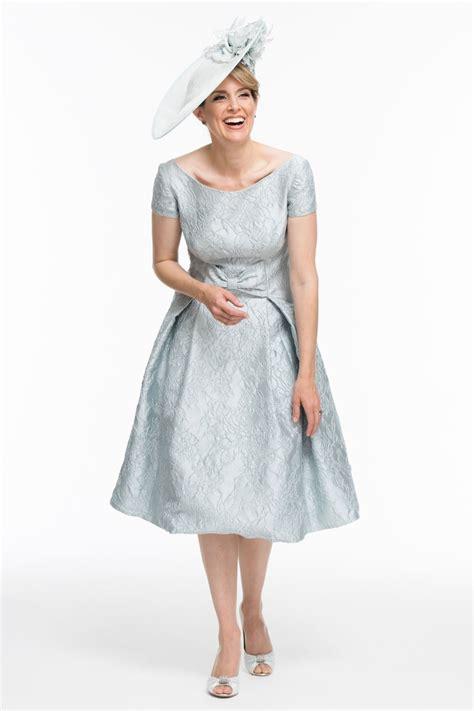 fifties style jacquard dress joyce young