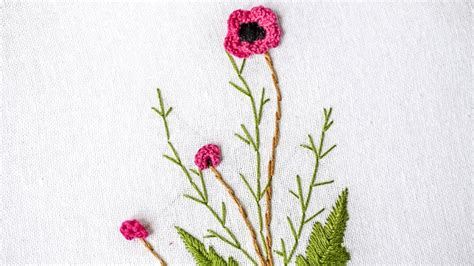 flower design youtube brazilian embroidery stitching flower design by hand
