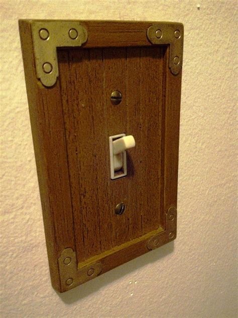 vintage light switch plate covers vintage wooden light switch cover light switches