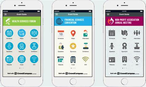 design event app mobile event apps crowdcompass apps for events cvent