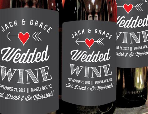 Personalized Custom Wine Labels