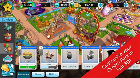 theme park apk mod rollercoaster tycoon touch v 1 2 21 mod apk with unlimited