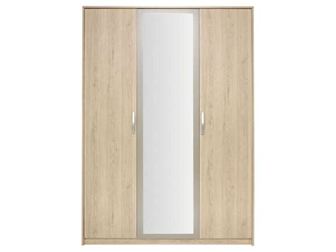 Armoire Conforama 3 Portes by Armoire 3 Portes Battantes Graphic Coloris Ch 234 Ne Arizona