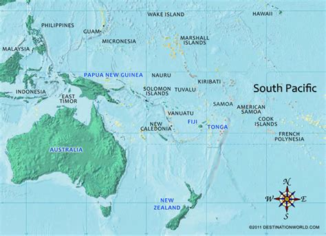 south pacific map south pacific vacations tahiti vacations fiji vacations 2015 personal