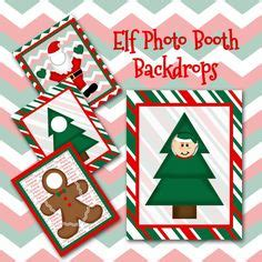printable elf on the shelf photo booth christmas elf notes and sayings printable instant