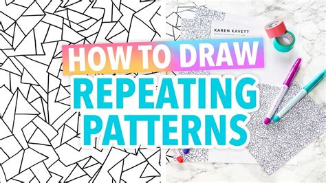 I Hacked Sketches Channel by Draw How To Draw Repeating Patterns Hack Hgtv