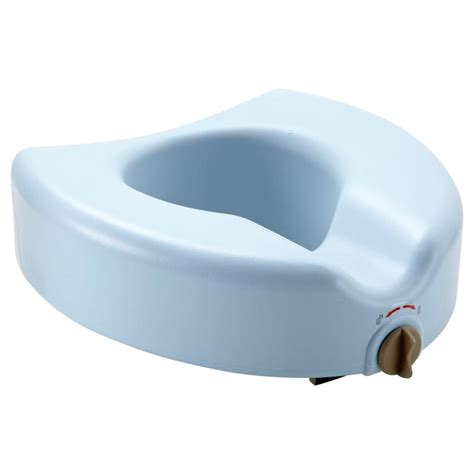 drive raised toilet seat with lock and lid 12067 the