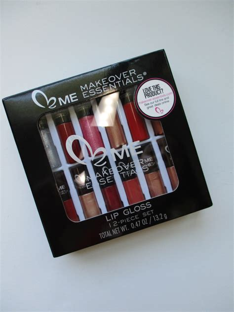 Lipgloss Makeover me makeover essentials lip gloss set by vanity planet