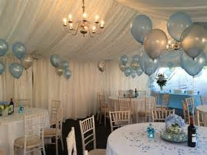 balloon decoration christening 1000 ideas about baptism table decorations on