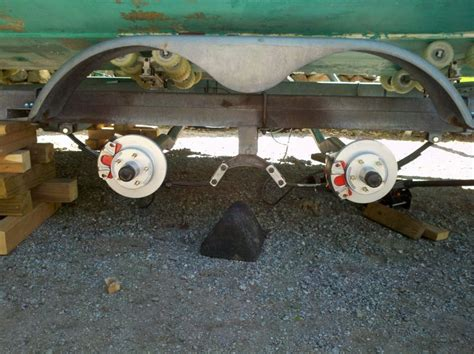 boat trailer axles pensacola trailer axle clearance issue the hull truth boating