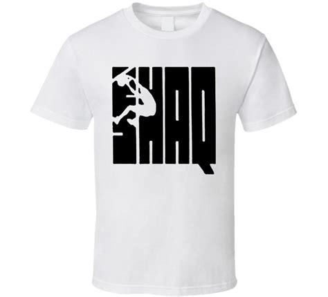 Logo T Shirt Yn Style shaq attack style logo t shirt