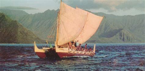 hawaiian word for boat 1976 hawai i to tahiti and back