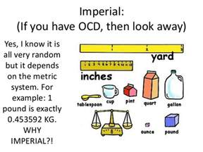 Imperial Vs Metric Imperial Vs Metric