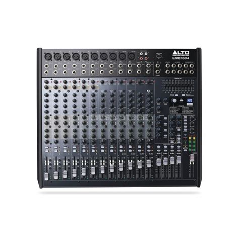 Mixer Alto 4 Channel alto live 1604 16 channel 4 mixer