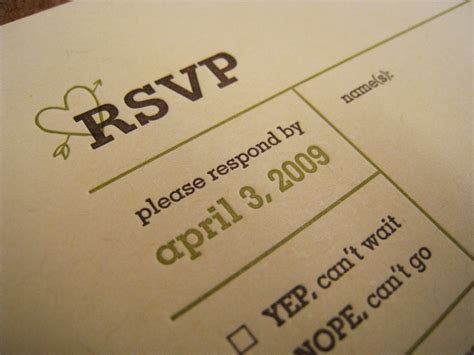 rsvp meaning of
