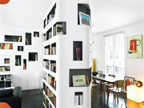 creative interior design 13 stilvoll eingebaute regale mit gro 223 er stellfl 228 che