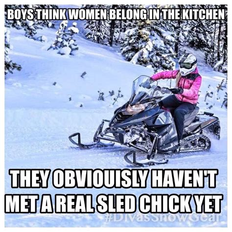 Snowmobile Memes - 25 most funniest sled meme pictures on the internet