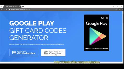 How To Use A Google Play Gift Card - how to use google play gift card generator free google play codes youtube
