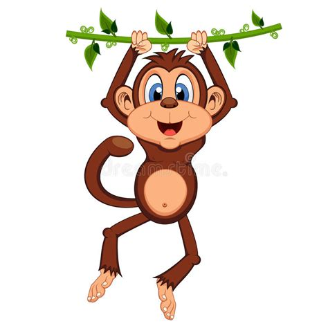 cartoon monkey swinging on a vine cartoon monkey swinging on a vine monkey swinging on vines