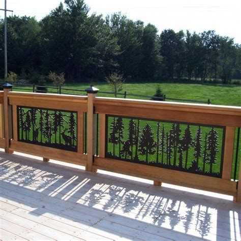Decorative Deck Balusters Beautiful Deck Panels 10 Decorative Deck Railing Panels