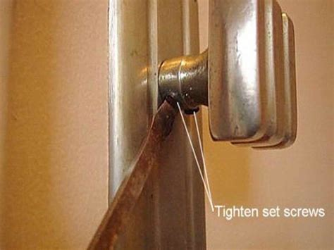 doors windows how to fix a door knob tips how to fix a
