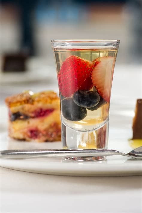 creme brulee dessert recipe in a shot glass top table catering weddings and events desserts