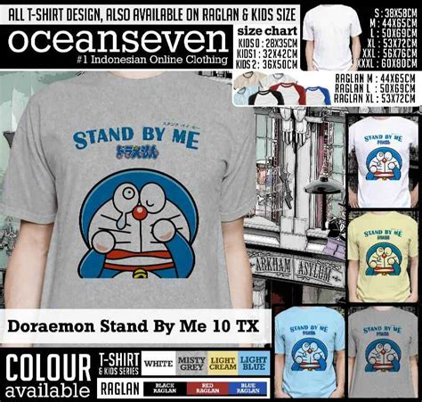 Kaos Stand By Me Doraemon 07 kaos doraemon stand by me kaos doraemon stand by me