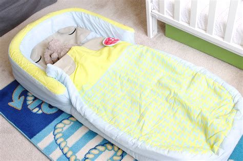 blow up toddler bed bearhug my first readybed review and giveaway uk family