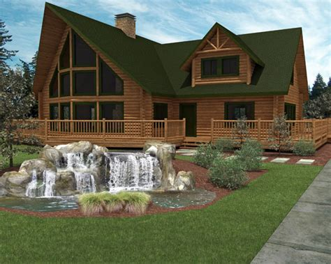 luxury home designs luxury log home plans small