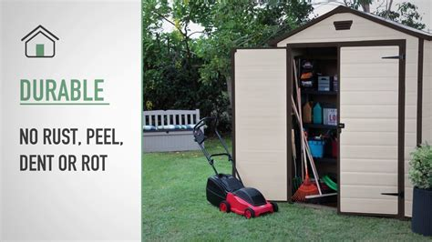 manor  plastic sheds keter youtube
