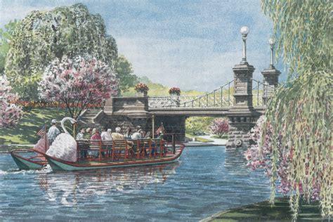 swan boats in the boston public garden quot swan boat boston public garden quot kathleen mcnally