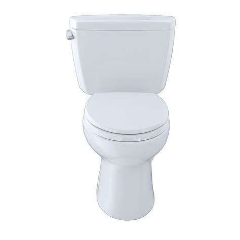 Eco Drake Toilet 1 28 Gpf by Toto Drake Eco 1 28 Gpf Elongated Two Piece Toilet Left