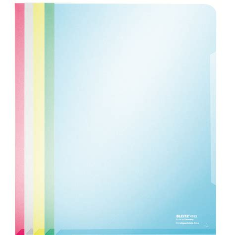 A4 Document Sleeve reinforced 4153 a4 plastic sleeves