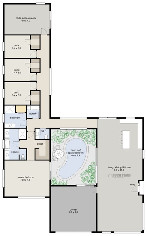 new home design floor plans zen lifestyle 6 4 bedroom house plans new zealand ltd